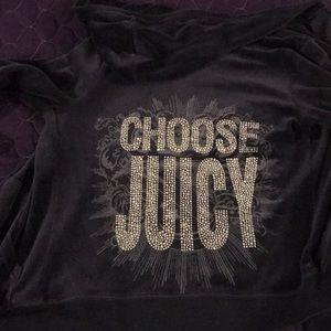 """Juicy Couture """"Choose Juicy"""" Size M Hoodie"""